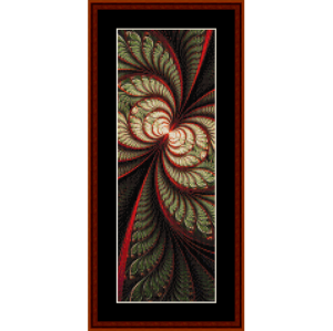 fractal 722 bookmark by cross stitch collectibles