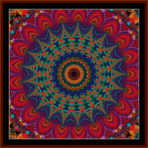 Fractal 720 cross stitch pattern by Cross Stitch Collectibles | Crafting | Cross-Stitch | Other