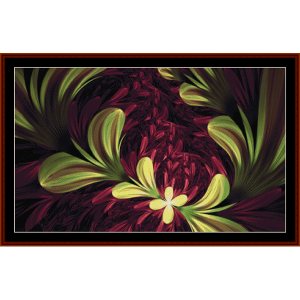 Fractal 724 cross stitch pattern by Cross Stitch Collectibles | Crafting | Cross-Stitch | Other