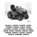 John Deere 1438,1538,1542, 15.538,15.542, 1642,1646,1742,1846,2046 Sabre Tractors Technical Manual TM1769   Documents and Forms   Manuals