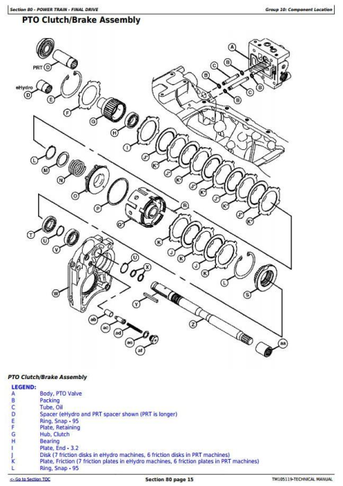 Third Additional product image for - John Deere 4520, 4720 Compact Utility Tractors W/O Cab (SN. 650001-) Technical Service Manual (TM105119)