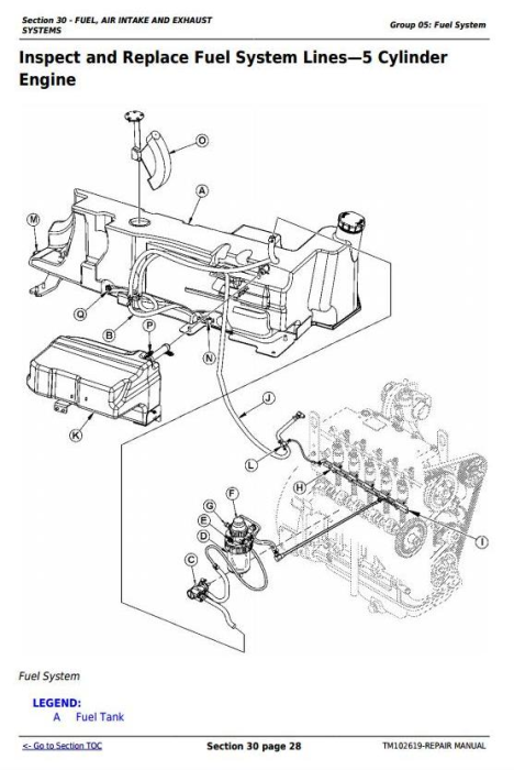 Fourth Additional product image for - Deere 5065M, 5075M, 5085M, 5095M, 5105M, 5105ML & 5095MH Tractors Repair Service Manual (TM102619)