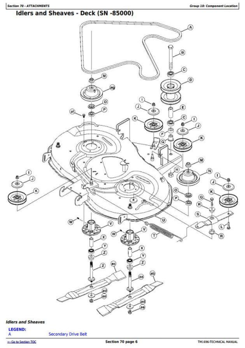 Fourth Additional product image for - John Deere X300R, X305R Select Series Riding Lawn Tractors All Inclusive Technical Service Manual TM1696