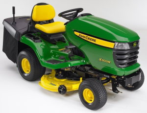 john deere x300r, x305r select series riding lawn tractors all inclusive technical service manual tm1696