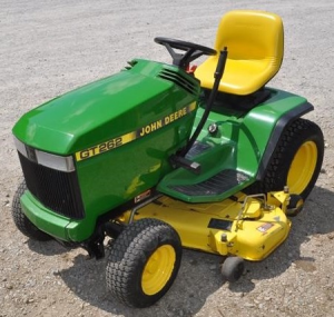 john deere gt242, gt262 & gt275 lawn and garden tractors all inclusive technical service manual (tm1582)