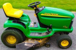 John Deere LT150, LT160, LT170, LT180, LT190 Lawn Tractors Technical on