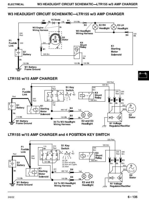 Third Additional product image for - John Deere LTR155, LTR166, LTR180 Lawn Tractors Diagnostic and Repair Technical Service Manual (TM1768)