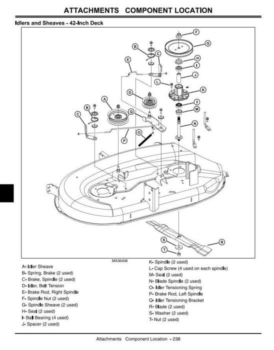 Fourth Additional product image for - John Deere X110, X120, X140 Lawn Tractors (EXPORT) Diagnostic and Repair Technical Service Manual TM2373
