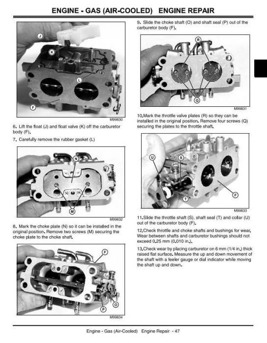 Second Additional product image for - John Deere X475, X485, X465, X575, X585 Lawn and Garden Tractors Technical Service Manual (tm2023)