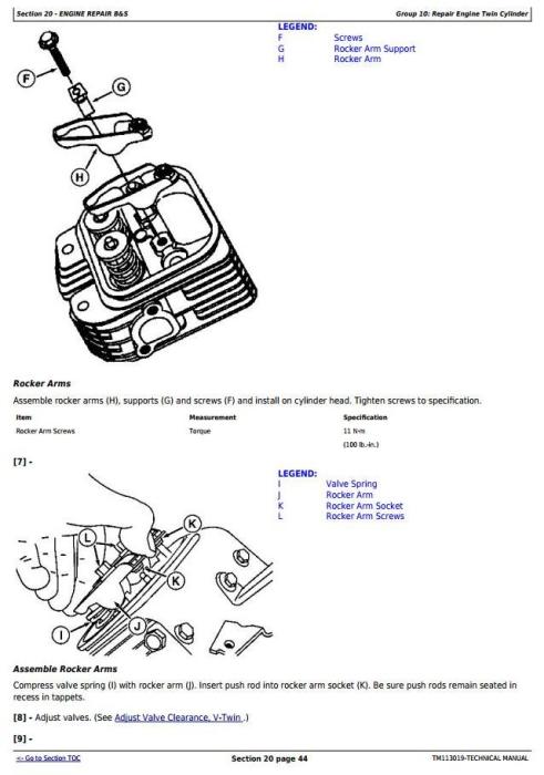 Second Additional product image for - John Deere Z425, Z435, Z445, Z465 EZtrak Residential Mower (SN.100001-) Technical Service Manual (TM113019)