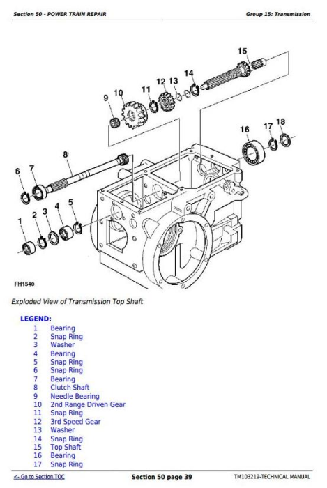 Third Additional product image for - Deere 20A Nursery and Green House Specialty Tractor Technical Service Manual (TM103219)