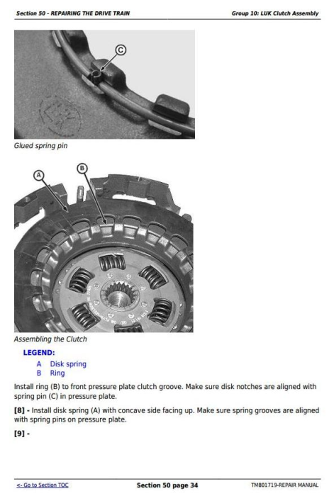 Fourth Additional product image for - Deere Tractors 5055E, 5065E, 5075E, 5078E, 5085E, 5090E South America, Africa Repair Manual TM801719