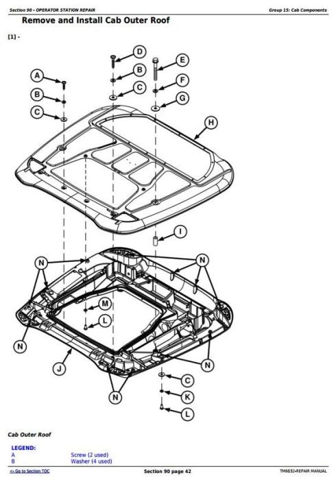 Third Additional product image for - John Deere Tractors 5425, 5425HC, 5425N, 5625, 5625HC, 5725, 5725N Service Repair Technical Manual TM6032