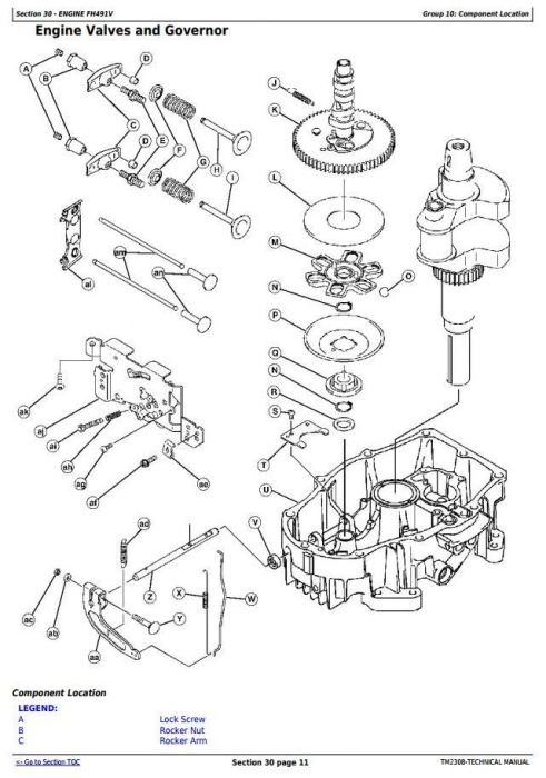 Second Additional product image for - John Deere X300, X304, X310, X320, X324, X340, X360 Select Series Tractor Technical Service Manual TM2308