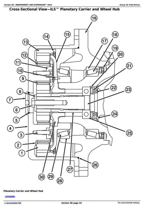 Third Additional product image for - John Deere 8235R, 8260R, 8285R, 8310R, 8335R, 8360R Tractors Repair Manual (TM110319)