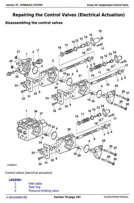 Second Additional product image for - John Deere Tractors 6810, 6910, and 6910S Service Repair Technical Manual (TM4566)