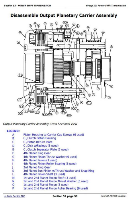 Fourth Additional product image for - John Deere Tractors 6810, 6910, and 6910S Service Repair Technical Manual (TM4566)
