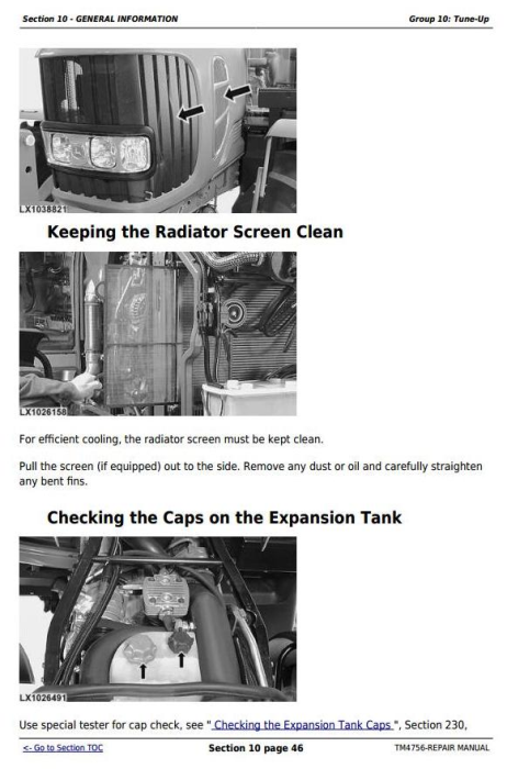 Third Additional product image for - John Deere Tractors 6820, 6920 and 6920S Service Repair Technical Manual (TM4756)