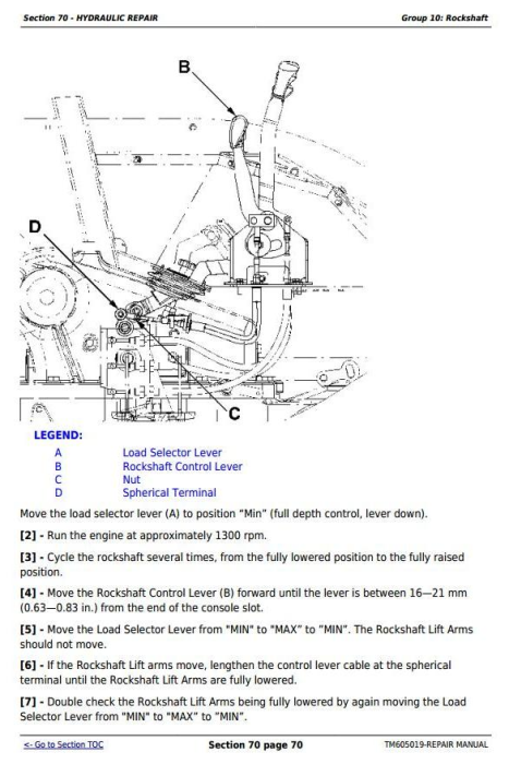 Third Additional product image for - John Deere Tractors 6100D, 6110D, 6115D, 6125D, 6130D & 6140D Service Repair Technical Manual (TM605019)