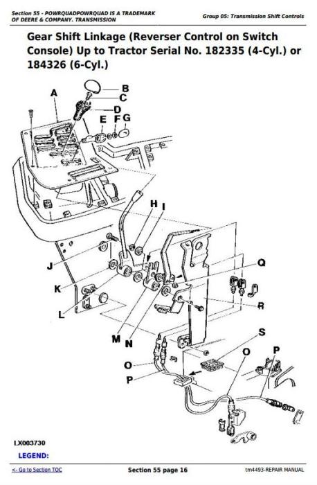 Second Additional product image for - John Deere Tractors 6100, 6200, 6300, 6400, 6506, 6600, SE6100,SE6200,SE6300 Service Repair Manual TM4493