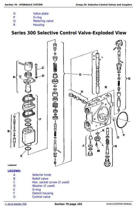Second Additional product image for - John Deere Tractors 6800 and 6900 Service Repair Technical Manual (TM4516)