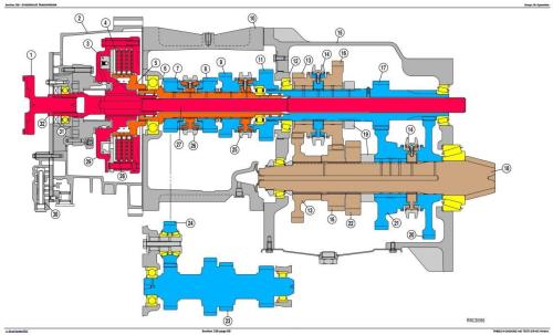 Second Additional product image for - John Deere Tractor 6415, 6615, 6100E, 6110E, 6125E (South America) Diagnostic Service Manual (TM800319)