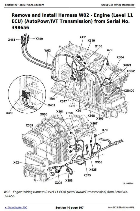 Fourth Additional product image for - John Deere Tractor 6120, 6220, 6320, 6420, 6120L, 6220L, 6320L, 6420L, 6520L Service Repair Manual TM4647