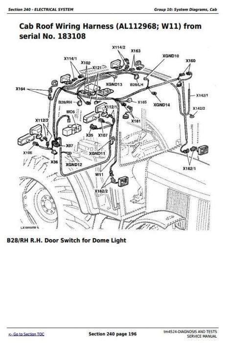 Third Additional product image for - John Deere Tractors 6200, 6200L, 6300, 6300L, 6400, 6400L, 6500, 6500L Diagnostic & Tests Manual (TM4524)