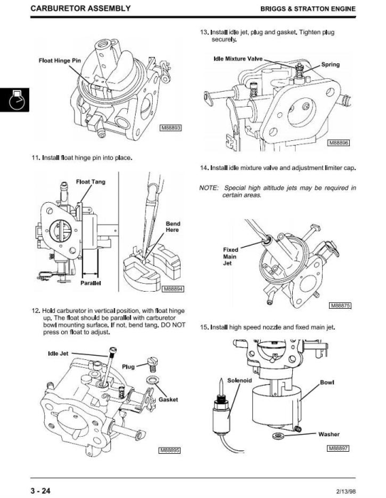 Fourth Additional product image for - John Deere Sabre 1842GV, Sabre 1842HV Yard Tractors Diagnostic & Repair Technical Service Manual (TM1740)