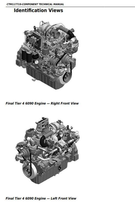 First Additional product image for - PowerTech™ 6090 Diesel Engines (Final Tier 4/Stage IV) Technical Manual (CTM117719)