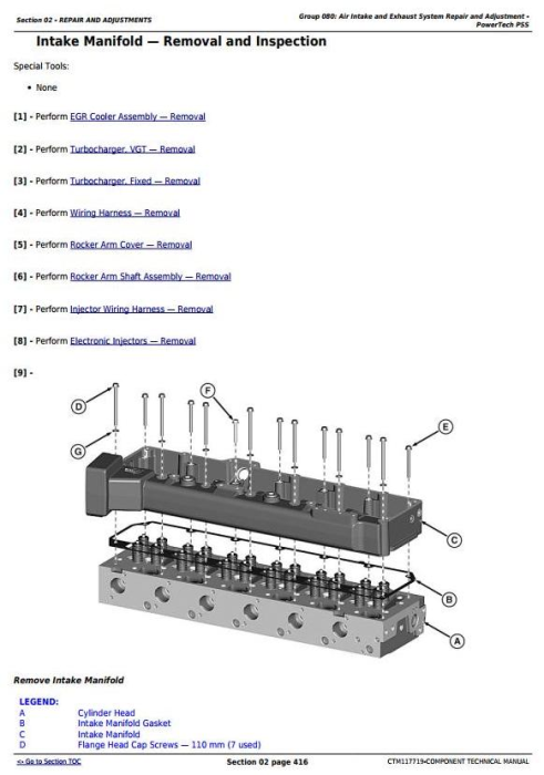 Third Additional product image for - PowerTech™ 6090 Diesel Engines (Final Tier 4/Stage IV) Technical Manual (CTM117719)