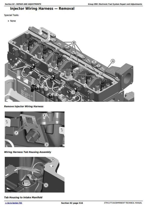 Fourth Additional product image for - PowerTech™ 6090 Diesel Engines (Final Tier 4/Stage IV) Technical Manual (CTM117719)