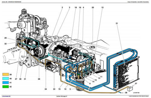 Second Additional product image for - John Deere Tractors 6405 and 6605 Diagnostic and Tests Service Manual (tm4867)