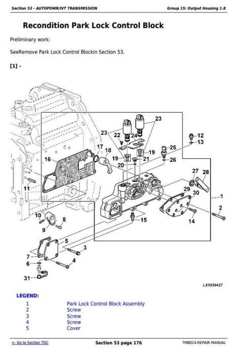 Second Additional product image for - John Deere Tractors 6830 and 6930 Premium (European Edition) Service Repair Technical Manual (TM8024)