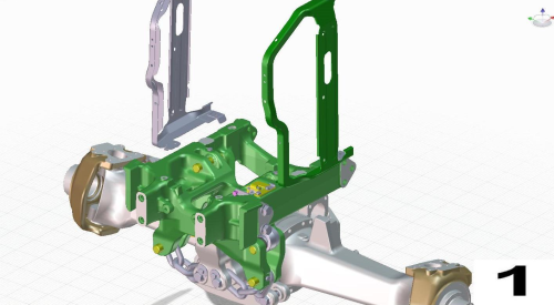 Third Additional product image for - John Deere Tractors 6830, 6930 (European) Service Repair Technical Manual (TM400619)