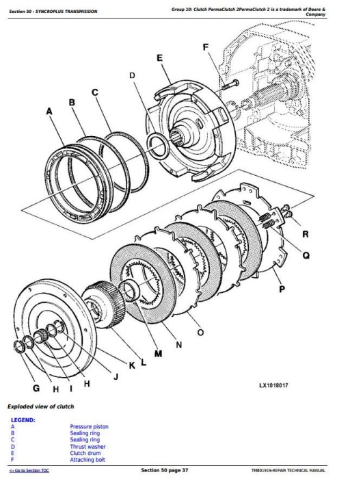 Second Additional product image for - John Deere 6110J, 6125J, 6130J Tractors Service Repair Technical Manual (Worldwide Edition) (TM801919)