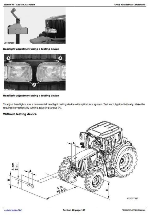 Fourth Additional product image for - John Deere 6145J, 6165J, 6180J & 6205J (Worldwide Edition) Tractors Service Repair Manual (TM801519)