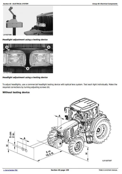 Fourth Additional product image for - John Deere 6145J, 6165J, 6180J & 6205J (Worldwide Edition) Tractors Service Repair Manual (TM801519)
