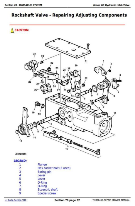 Third Additional product image for - John Deere Tractors 6415, 6615, 6110E, 6125E (South America) Service Repair Technical Manual (TM800419)
