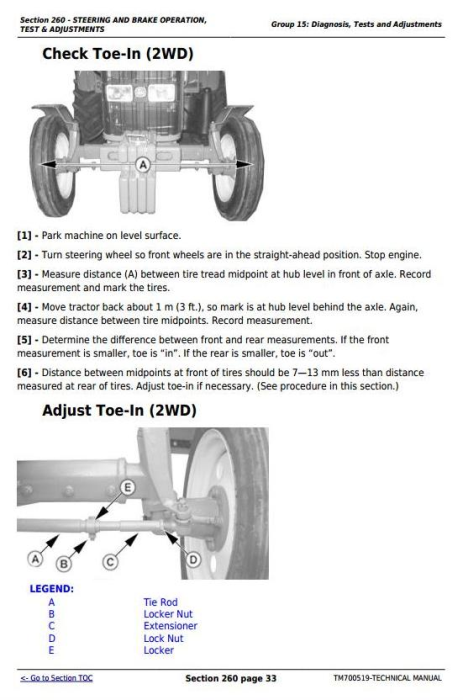 Third Additional product image for - Deere Tractors 5-750, 5-754, 5-800, 5-804, 5-850, 5-854, 5-900, 5-950 Service Repair Manual TM700519