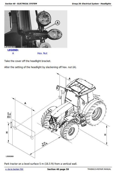 Fourth Additional product image for - John Deere Tractor 6090MC, 6100MC, 6110MC, 6090RC, 6100RC,6110RC Service Repair Technical Manual TM406619