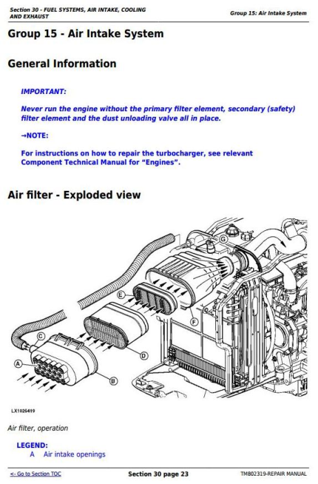 Third Additional product image for - Deere 1654, 1854, 2054, 2104, 6165J, 6185J, 6205J, 6210J China Tractors Repair Manual (TM802319)