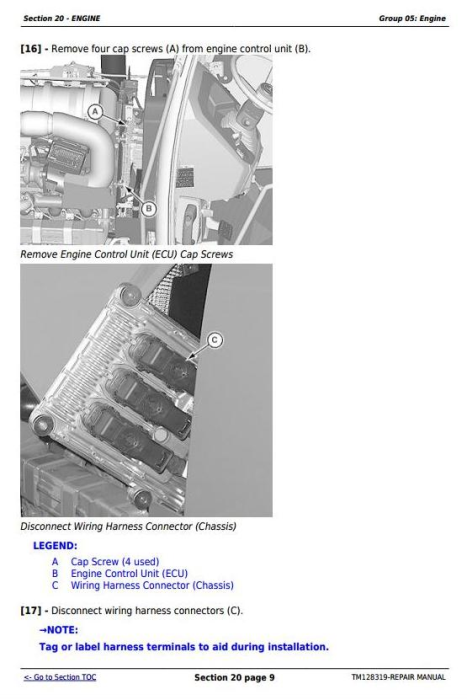 Third Additional product image for - Deere Tractors 5085E, 5095E and 5100E Service Repair Technical Manual (TM128319)