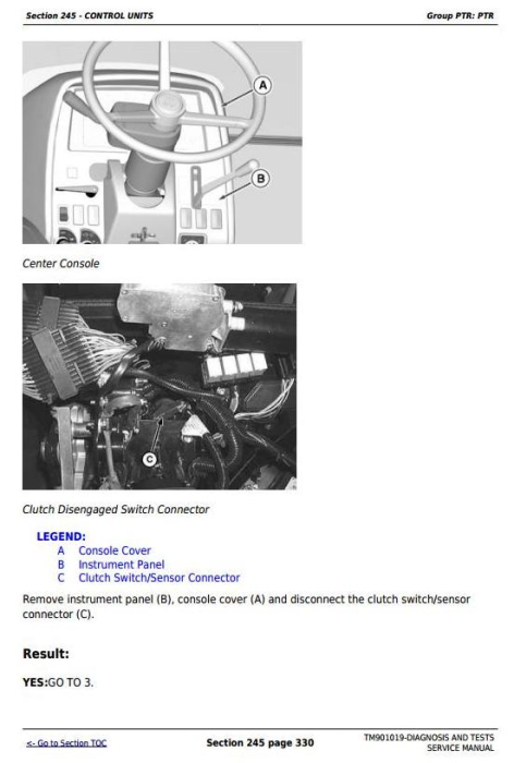 Third Additional product image for - Deere Tractors 5055E, 5065E, 5075E (North America) Diagnostic and Tests Service Manual (TM901019)