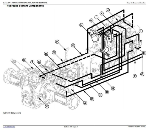 Second Additional product image for - John Deere Tractors 5-750,5-754, 5-800,5-804, 5-850,5-854,5-900 (China) Technical Service Manual TM700119