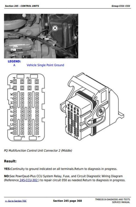 Second Additional product image for - John Deere 7185J, 7195J, 7205J, 7210J, 7225J Tractors Diagnosis and Tests Service Manual (TM802019)