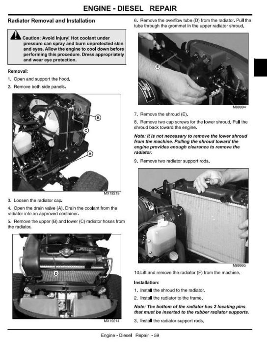 Second Additional product image for - John Deere 2210 Compact Utility Tractors (SN. 110001-) Technical Service Manual (tm2074)