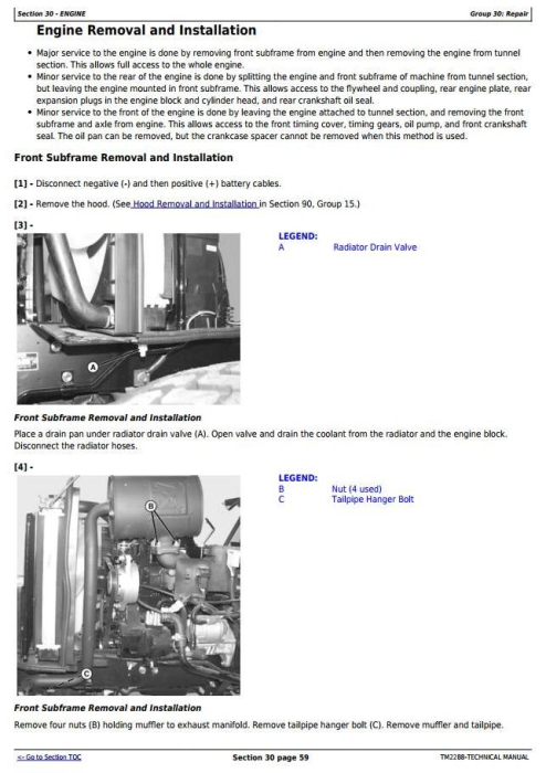 Second Additional product image for - Deere Compact Utility Tractors 2520 Series Repair, Test and Adjustments Technical Manual (TM2288)
