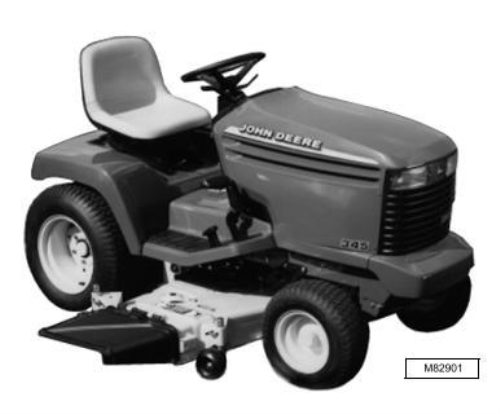 Second Additional product image for - John Deere 325, 345, 335 Lawn and Garden Tractors (SN. 070001-) Technical Service Manual (tm1760)