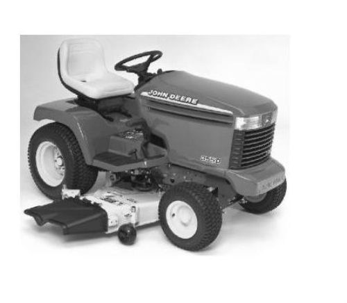 First Additional product image for - John Deere 355D (SN. 085001-) Lawn and Garden Tractors Technical Service Manual (tm1771)